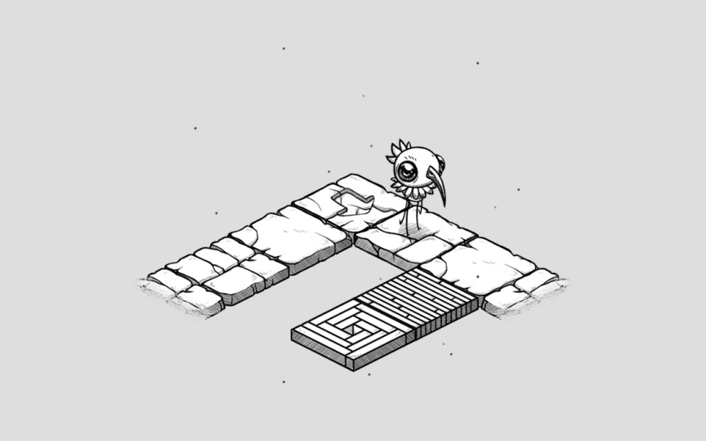 A bird-like creature in Oquonie