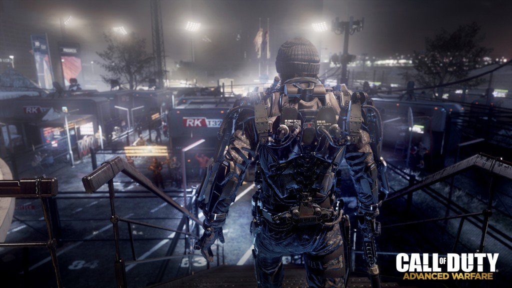 Future Detroit as seen in Call of Duty Advanced Warfare
