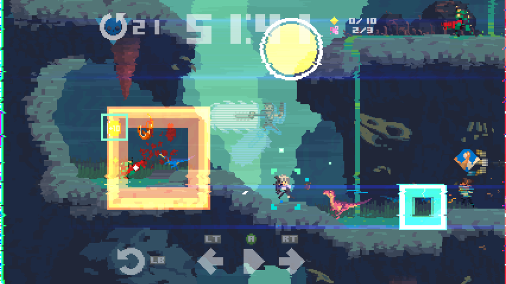 The Time Out mechanic on display in Super Time Force
