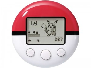 The Pokéwalker device, as released with Pokémon Heart Gold and Soul Silver in 2009 // Nintendo