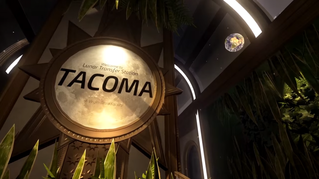 welcome to lunar transfer station Tacoma